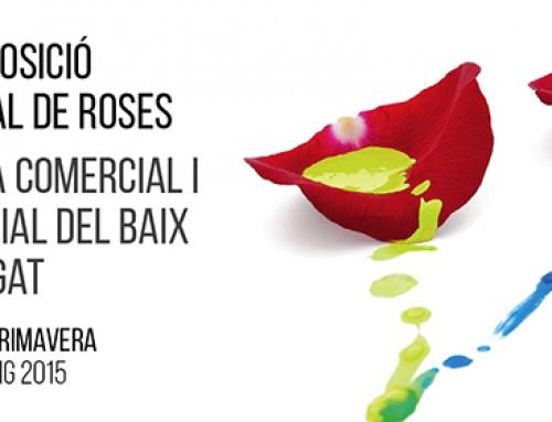 57 Exposició Nacional de Roses i 36 Fira Comercial i Industrial Baix Llob a St Feliu de Llobregat 2015